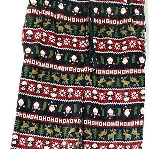 Joe Boxer Christmas Hohoho Santa Snowman Reindeer